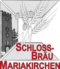 Logo vom Schlossbräu Mariakirchen