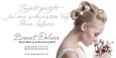 Brautfrisur und Beauty- Braut Deluxe