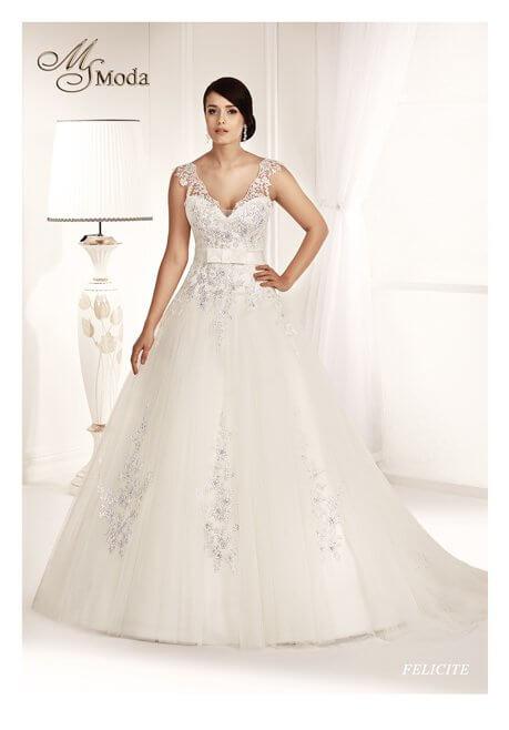 Brautkleid MS Moda Felicite