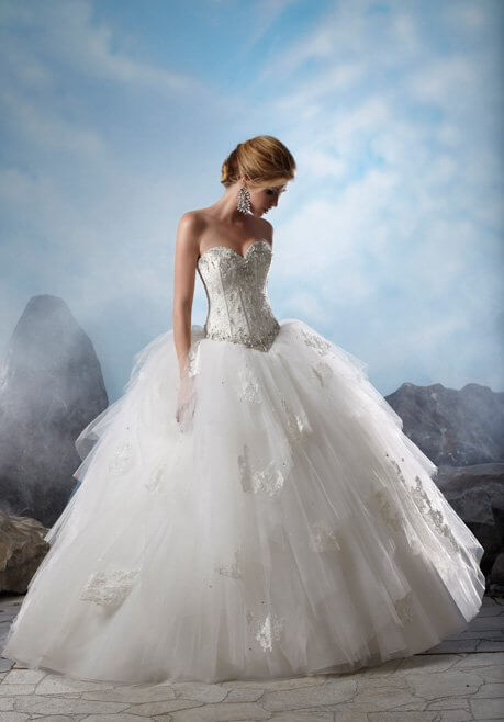 Brautkleid Madeline Gardner New York 38015