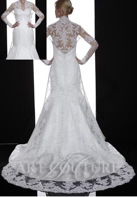 Brautkleid Art Couture J055