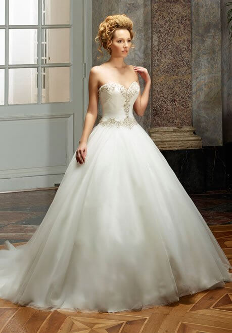 Brautkleid Diane Legrand Diamant 4101
