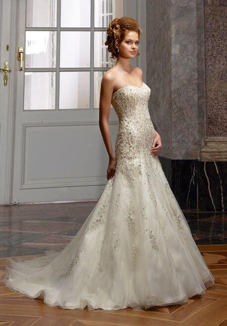 Brautkleid Diane Legrand Diamant 4102