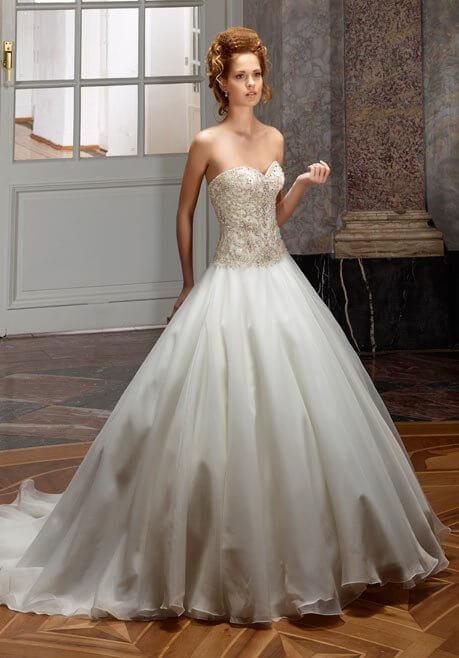 Brautkleid Diane Legrand Diamant 4104