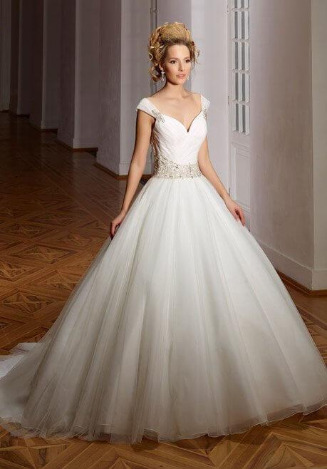Brautkleid Diane Legrand Diamant 4105