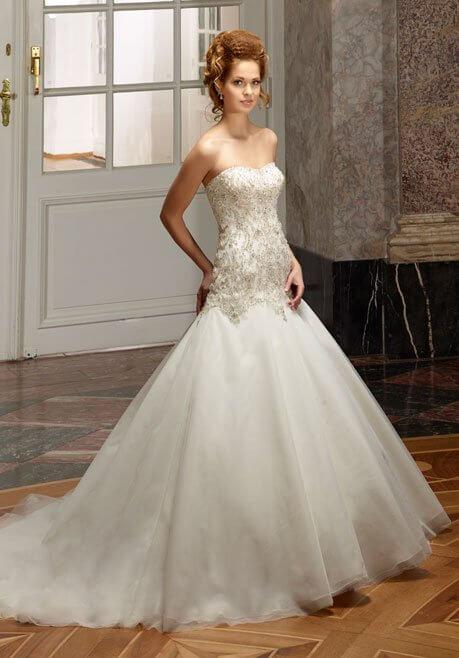 Brautkleid Diane Legrand Diamant 4106
