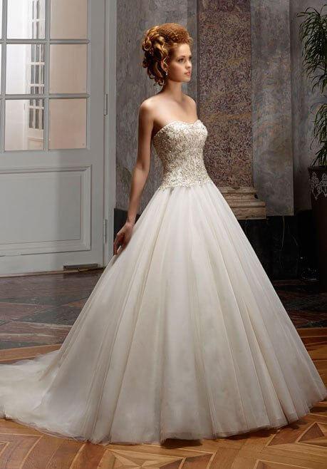 Brautkleid Diane Legrand Diamant 4107