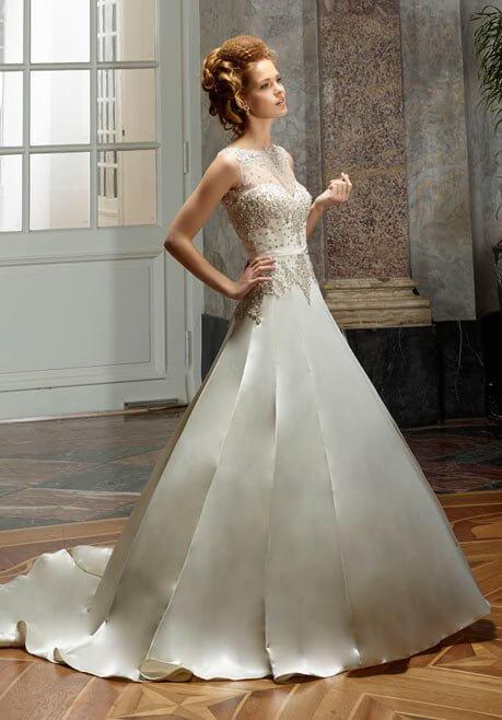 Brautkleid Diane Legrand Diamant 4108