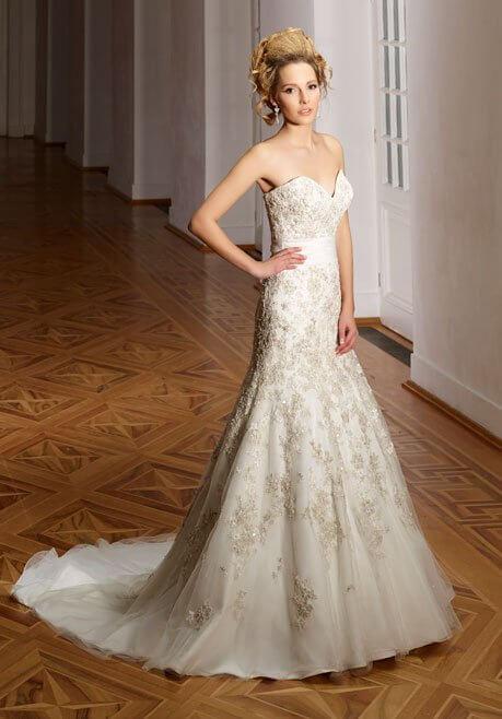 Brautkleid Diane Legrand Diamant 4109
