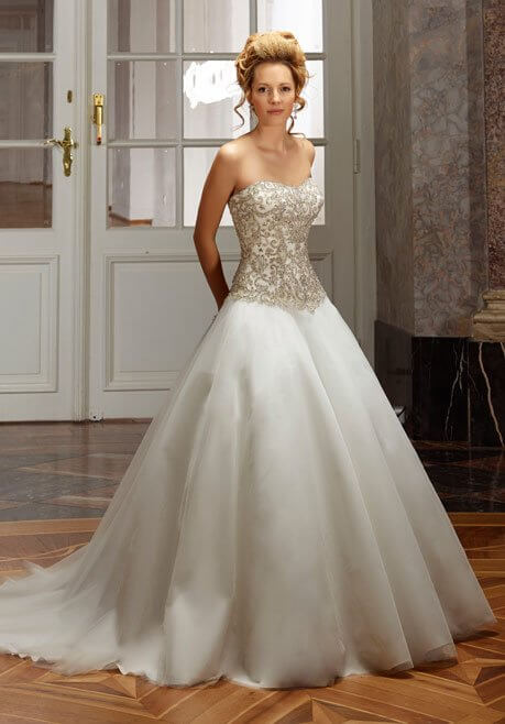 Brautkleid Diane Legrand Diamant 4110