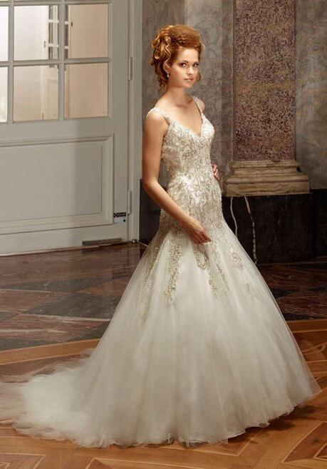 Brautkleid Diane Legrand Diamant 4111