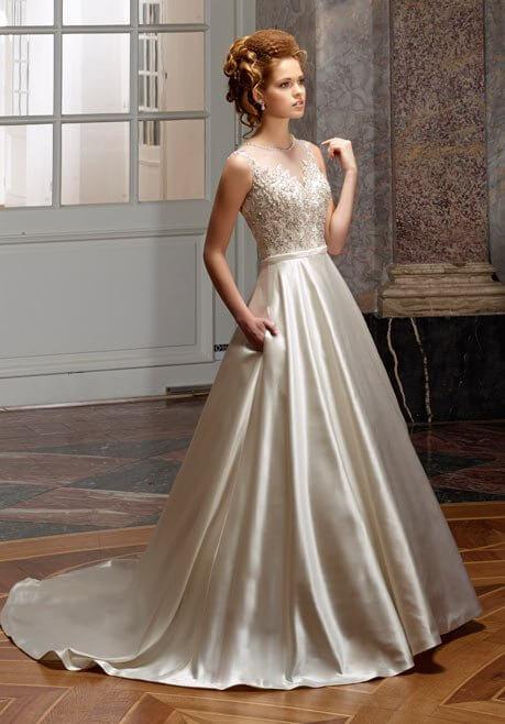Brautkleid Diane Legrand Diamant 4112
