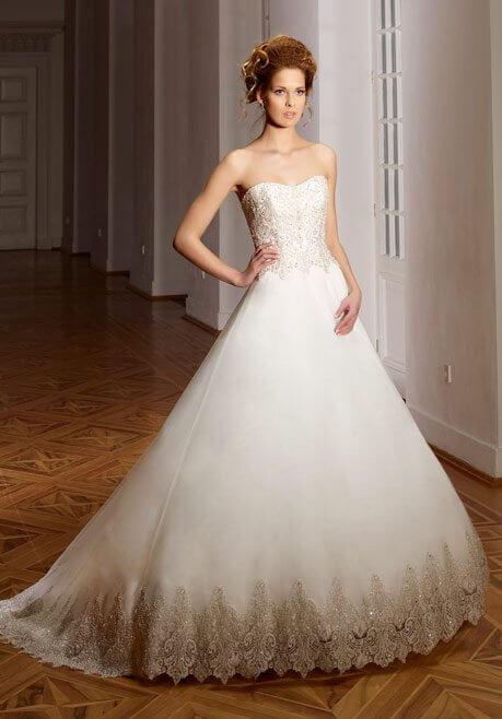 Brautkleid Diane Legrand Diamant 4113