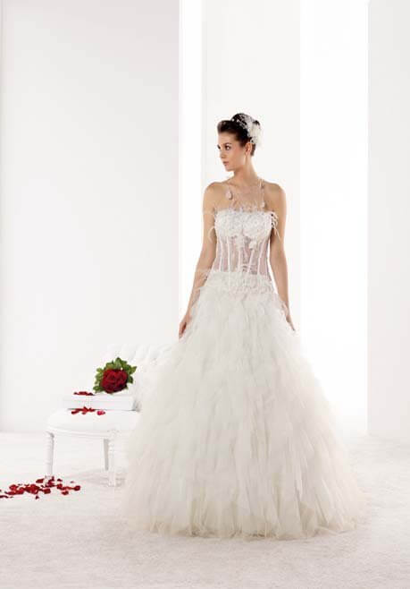 Brautkleid Mademoiselle Amour Plume - NJ25