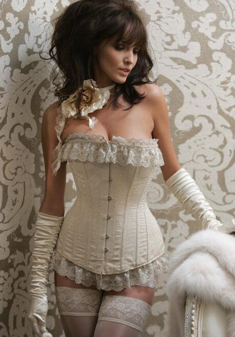 Brautkleid Revanche de la femme Korsett
