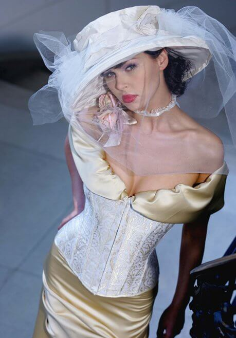 Brautkleid Revanche de la femme Champagner