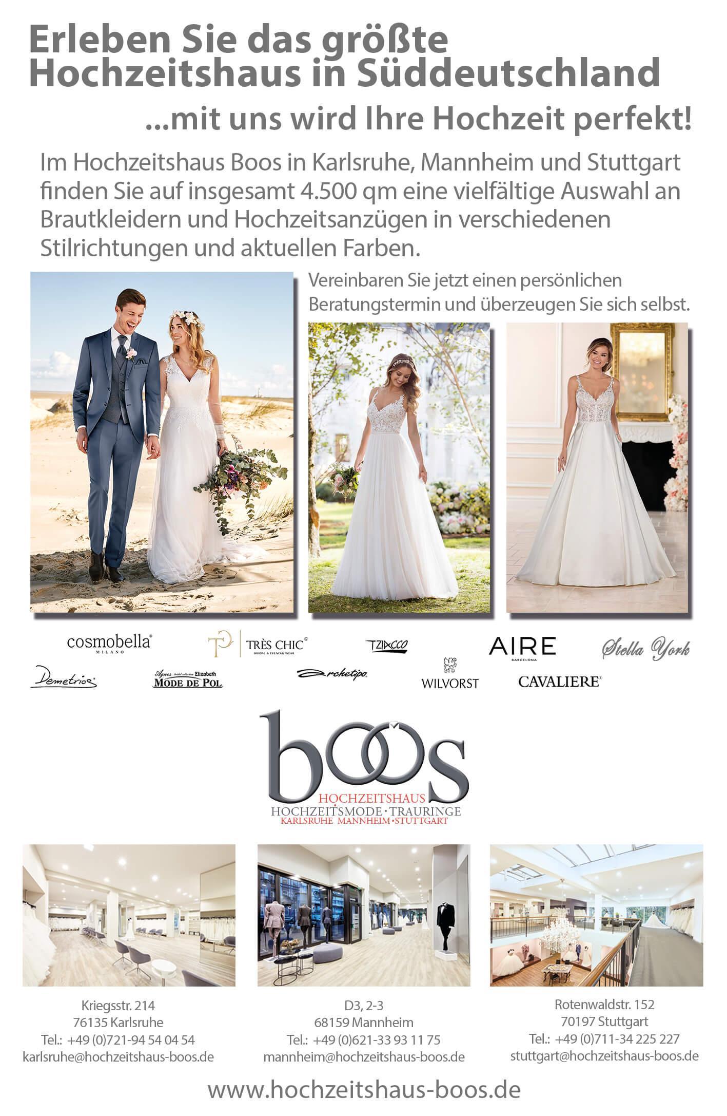 Brautmode Hochzeitshaus Karlsruhe Weddix