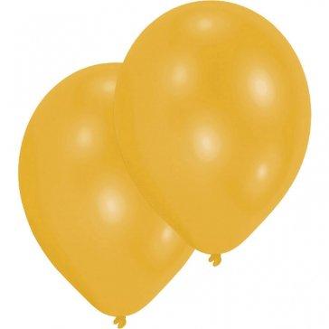 Metallic Ballons gold