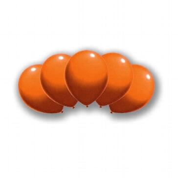 Luftballons für orange Farbpunkte zur Trauung