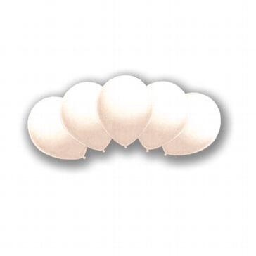 Luftballons für die weiße Traumhochzeit