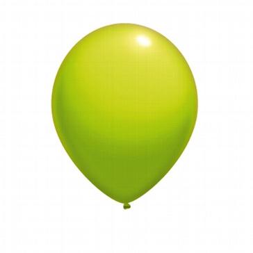 Rundballon-90cm-limonengruen