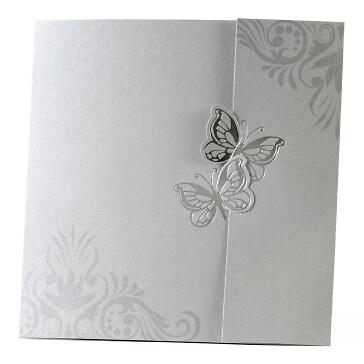 Einladungskarte zur Hochzeit Viviana
