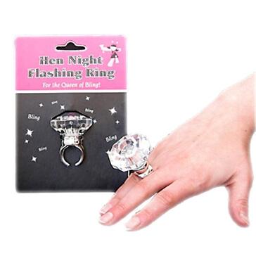 LED-Ring für Junggesellinnenabschied