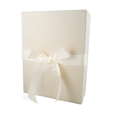 """Hochzeitsbox """"Herzensfreude"""", creme"""