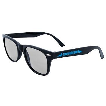 Sonnenbrille Team Bräutigam, schwarz