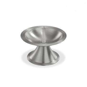 Metallleuchter, klein, silber