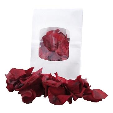Echte Rosenblaetter Bordeaux