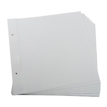 Nachfüllblätter für Alben 24x24cm