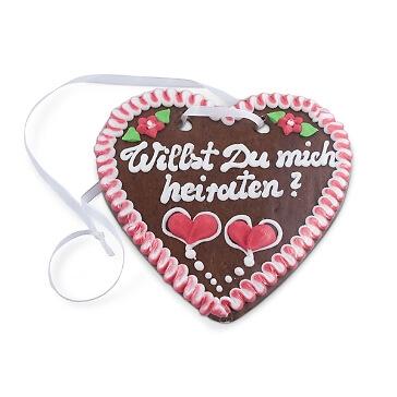 "Lebkuchenherz ""Heiratsantrag"""