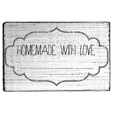 stempel homemade with love