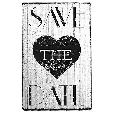 stempel save the date mit herz