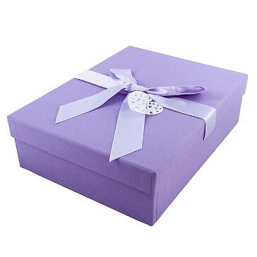 Hochzeitsbox Herzensfreude, flieder