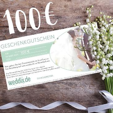 Geschenk-Gutschein in Höhe von 100 Euro