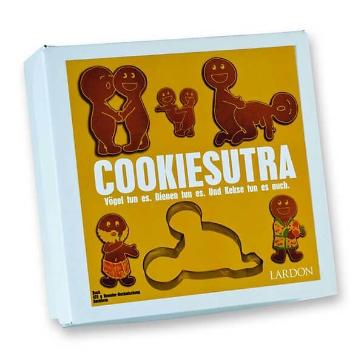 """Geschenkbox """"Cookie Sutra"""" - mit Ausstechform"""