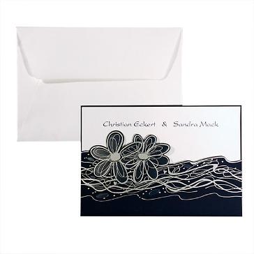Einladungskarte Flori