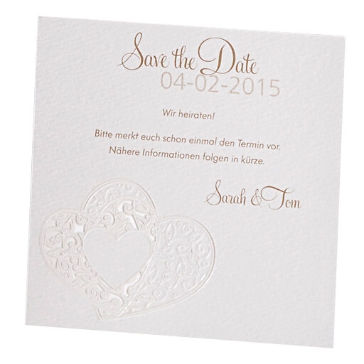 Save-the-Date-Karte Michelle
