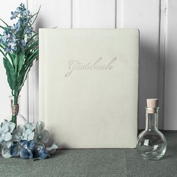 Gästebuch weiß indiana Frost