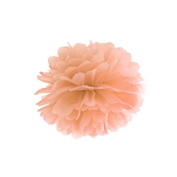 Hochzeitsdeko Pompom Fluffy Apricot