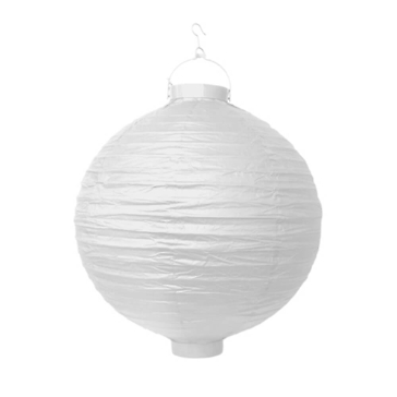 LED Lampion Weiss 30 cm