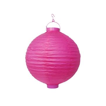 LED Lampion Pink