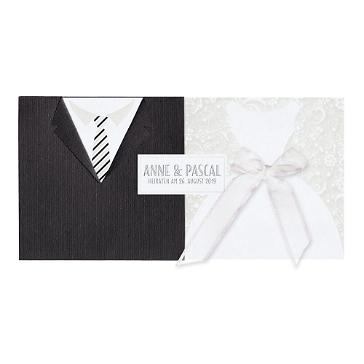 Einladungskarte Hochzeit Viola 2