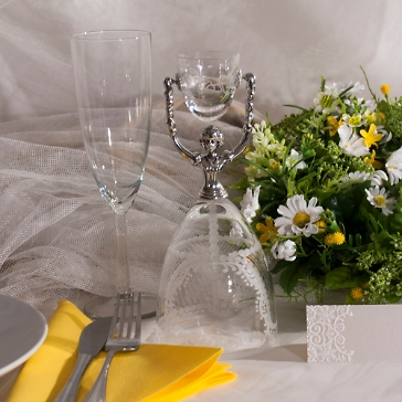 Brautbecher Hochzeit Edeltraud