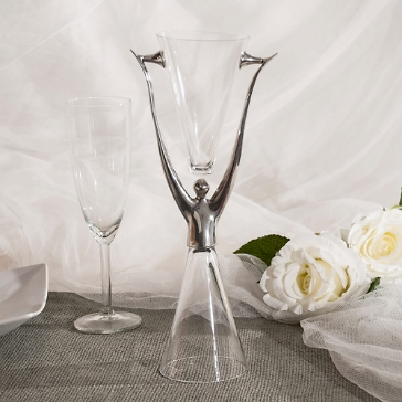 Brautbecher Hochzeit Modern Art