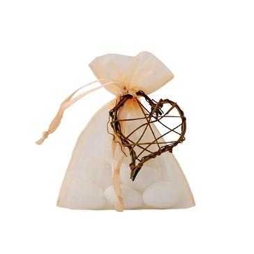 Gastgeschenk Hochzeit Nemesis apricot