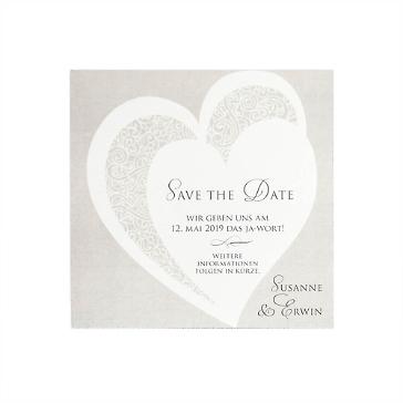 Save the Date Karte Kirsten als Kartenserie