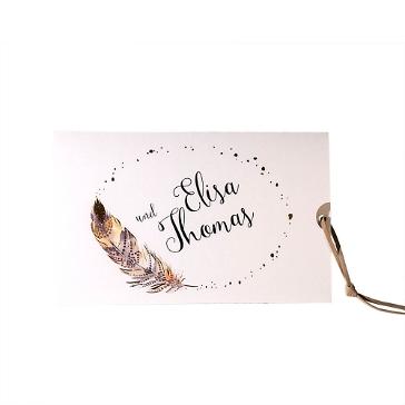 Boho Hochzeitseinladung Elisa